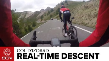 Col D'Izoard Real Time Descent