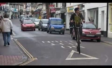 Cornwall's penny-farthing postal service